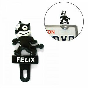 Felix The Cat License Plate Topper Metal Vintage Reproduction Advertising