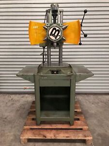 Burgmaster 1d 6 Spindle Turret Drill On Base Usa gmt 1790