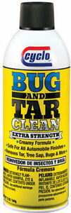 Cyclo Bug And Tar Cleaner 12 00 Oz Aerosol P N C64