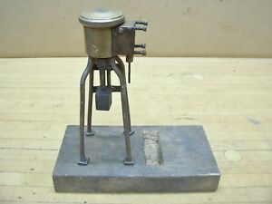 Lunkenheimer No 1 Brass Grease Greaser Cup Hit Miss Steam Engine