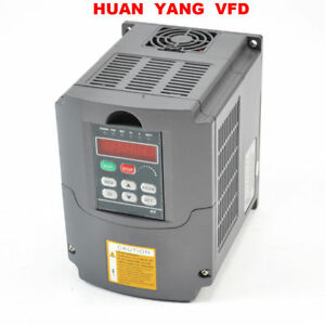 Hy 1 5kw 220v Huan Yang Variable Frequency Drive Inverter Vfd 2hp 7a