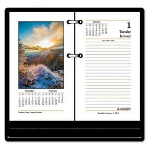 At a glance Recycled Photographic Desk Calendar Refill 2019 aage41750
