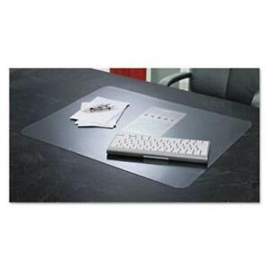 Artistic Krystalview Desk Pad With Microban 22 X 17 Matte Clear aop60240ms