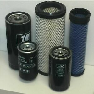 Mahindra Tractor Economy Pack Of 5 Filters 0455 0456 8904 2702 0789