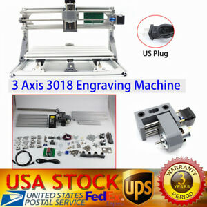 3 Axis Mini Cnc Router 3018 Engraving Milling Engraver Machine Grbl Control