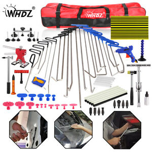 Whdz Car Paintless Dent Repair Puller Lifter Removal Hail Rods Dent Hammer Tool
