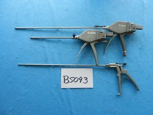 Davol Surgical Salute Fixation Instruments Lot Of 3