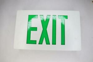 Isolite Emergency Exit Sign Lpdcacgdwwc