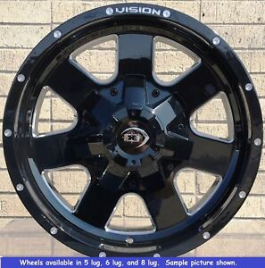 4 New 17 Wheels Rims For Nissan Armada Frontier Pathfinder Xterra 6 Lug 25040