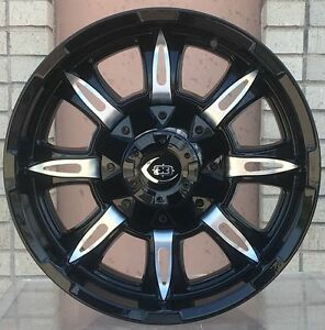4 New 17 Wheels Rims For Gmc Sierra 1500 6 Lug 25047