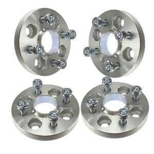 4x 15mm Hubcentric 4x100 Wheel Spacers For Toyota Mr2 Spyder Mazda Miata Bolt On