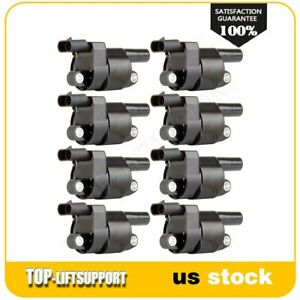 New Ignition Coil Kit Uf414 Fits 2008 2016 Chevy Silverado 1500 V8 5 3l 8pack