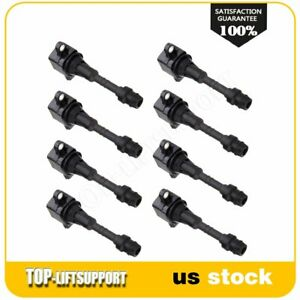 New Ignition Coil Kit Uf510 Fit 2004 2006 Nissan Titan 8pack