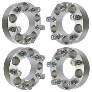 4 Pcs 1 5 Wheel Spacers 5x135 Thick Fits Ford F150 1997 2003 Expedition 12x1 75