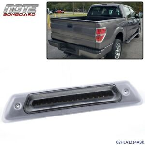 For Ford F 150 2009 2014 Clear Led Rear Third 3rd Brake Light Roof Cargo Lamp