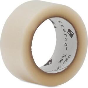 Sparco Transparent Hot melt Tape 2 X 110yd 36 Rolls spr01613ct