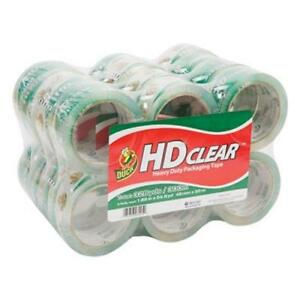 Duck Heavy duty Ct Packaging Tape 1 88 X 55 Yards Clear 24 pack duc393730