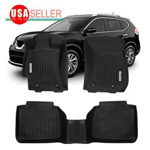 All Weather Floor Mats For 2015 2019 Subaru Outback Liners Heavy Duty Full Set