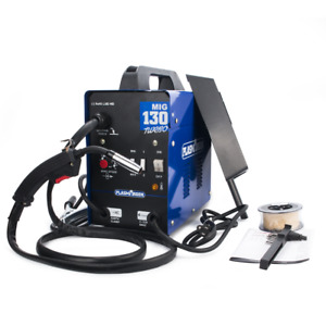 Mig Welder Welding Machine Mig130 110v Auto Wire Feed Handheld In Us Stock New