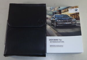 Document Kit Operating Instructions Bmw 7er G11 Stand 02 2017