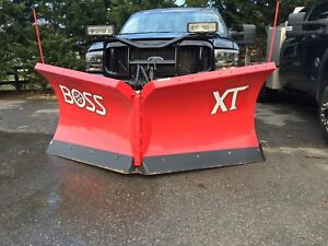 Demo Boss 8 2 Vxt Rt3 V blade Snowplow Sl3 Led Lights Smartlocks V xt Steel