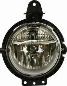 Clear Lens Fog Light For 2007 15 Mini Cooper Lh Or Rh Capa Plastic Lens W Bulb
