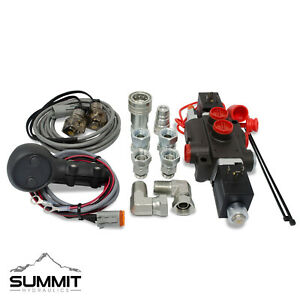 Third Function Hydraulic Valve Kit W Joystick Handle Tractor loader 13 Gpm Ag