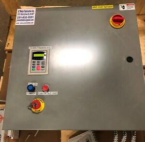 Paint Spray Booth Control Panel 3 Phase Input