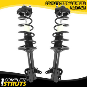2002 2003 Mazda Protege5 Rear Quick Complete Strut Coil Spring Assemblies Pair