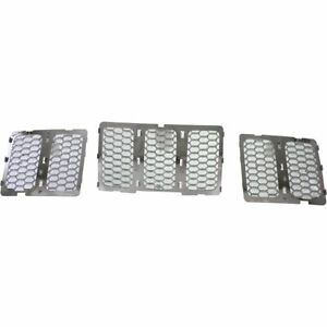 68143075ab Ch1200366c New Grille Chrome Jeep Grand Cherokee 2014 2016