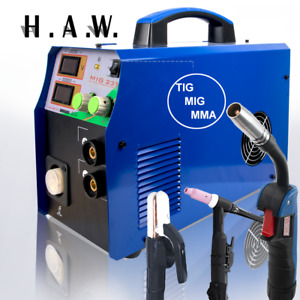 Mig 235 110 220v Welder Inverter Welding Machine Stick Mma tig mig Arc Digital