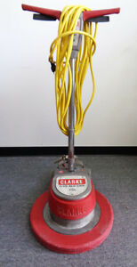 Floor Machine Clarke Floor Maintainer 20 Model 2000 Fm 2000 Used 6ab