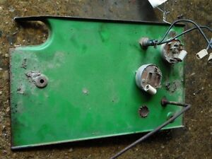 John Deere 1010 Tractor Bottom Dash Plate Tag 167