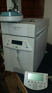 Agilent 6850 Gas Chromatograph With Hand Held Controller Lan And Autosampler