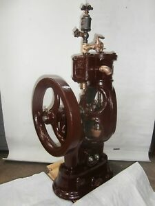 Circa 1880 Bucket Plunger Steam Fire Pump Steam Engine