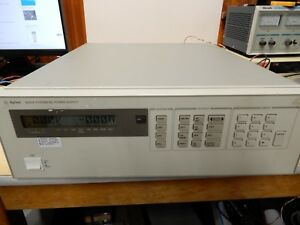 Hewlett Packard 6623a System Dc Power Supply Triple Seems To Be Working Fine