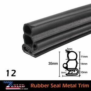 Auto Rv Truck Prats Black Rubber Seal Protector Anti Dust Weatherstripping 20ft