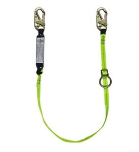 Safewaze Fs455 Tie back Energy Absorbing Lanyard Web With Adjustable Ring