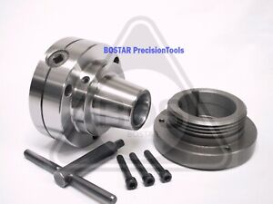 Bostar 5c Collet Lathe Chuck With Semi finished L 00 Back Plate