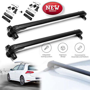 49 Inch Car Top Aluminum Roof Rack Cross Bar Cargo For Kia Optima Sorento Soul