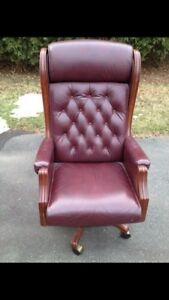 Presidential Leather Office Chair