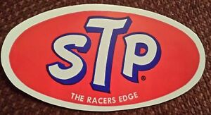 Nos Stp Racing Decal Sticker Auto The Racers Edge Oil Treatment Ships Free