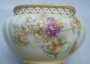 Ernst Wahliss Antique Center Piece Bowl Stamped And Numbered