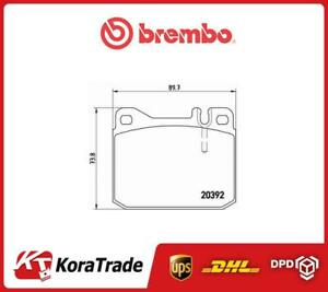 P50002 Brembo Oe Quallity Disc Brake Pads Set