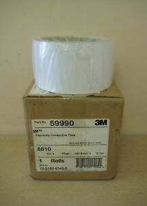 New 3m 59990 8810 4 X 10yd 1 roll Thermally Conductive Adhesive Transfer Tape