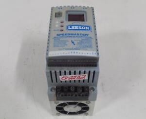 Leeson Sm Plus Series Speedmaster Adjustable Speed Ac Motor Control 174463
