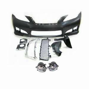 Isf Look Front Bumper W Fog Lamp Pdc W O Grille For Lexus 2006 2011 Is250