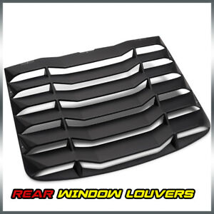 Abs Rear Window Windshield Louvers Cover Sun Shade For 2003 2008 Nissan 350z