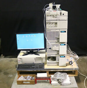 Agilent Hp 1050 Hplc Set Chemstation as mwd elsd rid Clearance Sale Nice