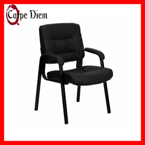 Leather Reception Office Chair Lobby Seat Waiting Room Visitor Furniture Chairs